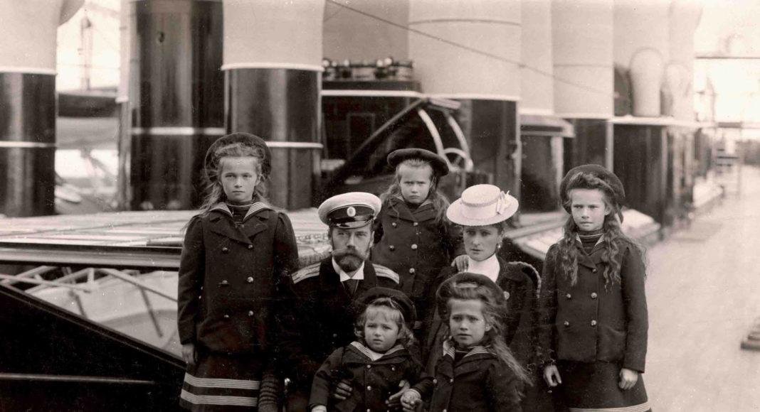 Семья Николая II_1907