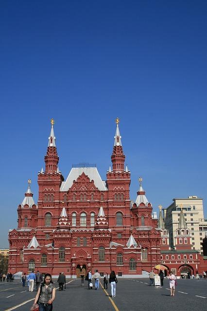 Столица России, Москва. Красная площадь