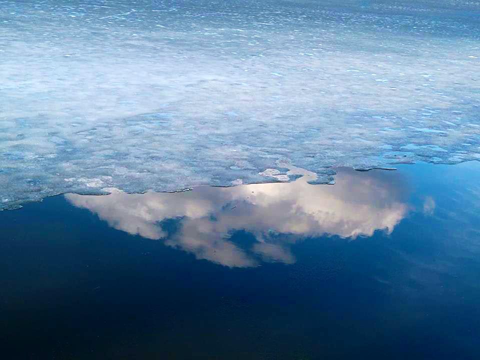 Черненко в Бюро Постышева. Лед и небо