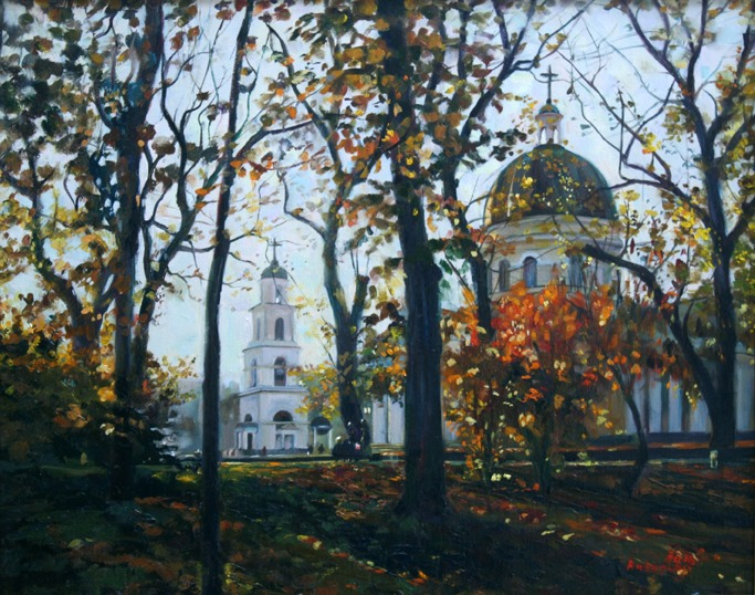 Старый Кишинев. Кафедральный собор.