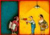 Бюро Постышева. Карикатуры Валерия Курту